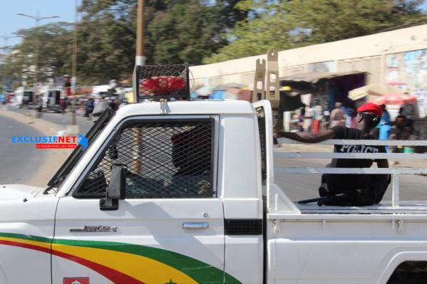 Opération de sécurisation à Rufisque : Un policier violemment fauché par une voiture