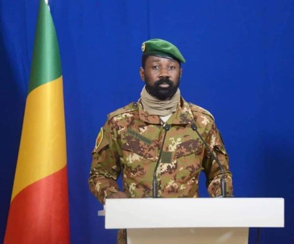 MALI : Le colonel Assimi Goïta déclaré président de la transition par la Cour constitutionnelle