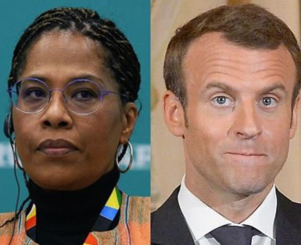 """Nathalie Yamb répond à Macron : """"Nous ne sommes pas Brigitte"""""""