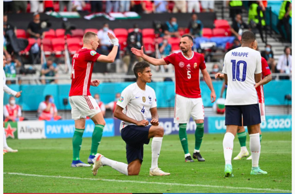 EURO 2021 : La Hongrie freine la France  par 1-1