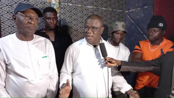 """Ziguinchor : Abdoulaye Baldé au lancement du studio d'enregistrement du groupe """"Hard Core Side""""."""