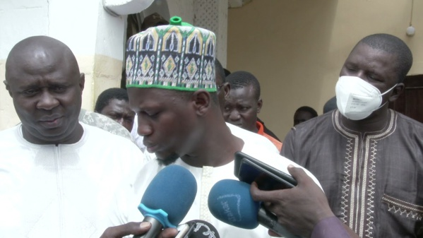 Kaolack : Les jeunes marabouts de Leona Niassene quittent le PASTEF