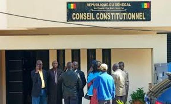 MODIFICATION DU CODE ÉLECTORAL : Un recours déposé devant le conseil constitutionnel