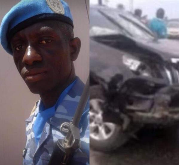 Policier tué sur la route de Mbour : Un suspect arrêté, des traces de sang prélevées sur le véhicule
