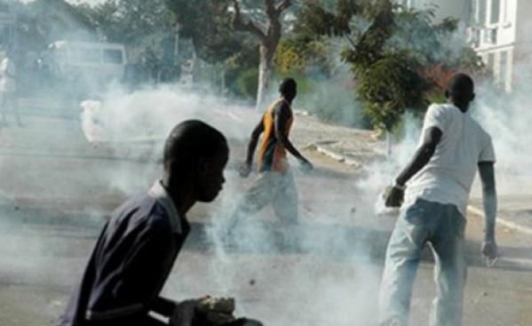 URGENT! Ça Chauffe à Bambey entre étudiants et forces de l'ordre