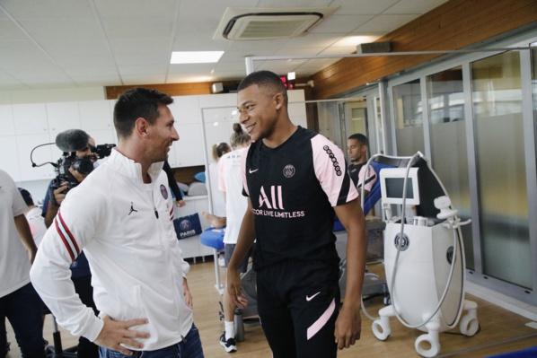 Mbappé a enfin souhaité la bienvenue à Messi au PSG