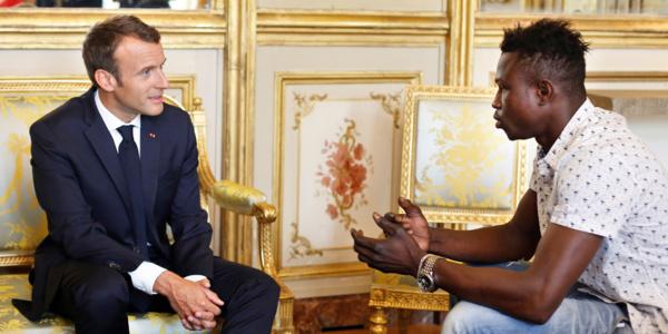 Le rêve déchu de Mamoudou Gassama, sauveteur d'enfant érigé en héros national
