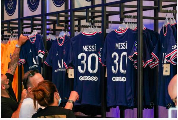 Polémique sur la vente des maillots Messi