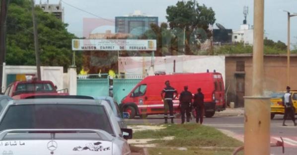 Prison de Rebeuss : Un meurtrier en détention agresse un garde pénitentiaire