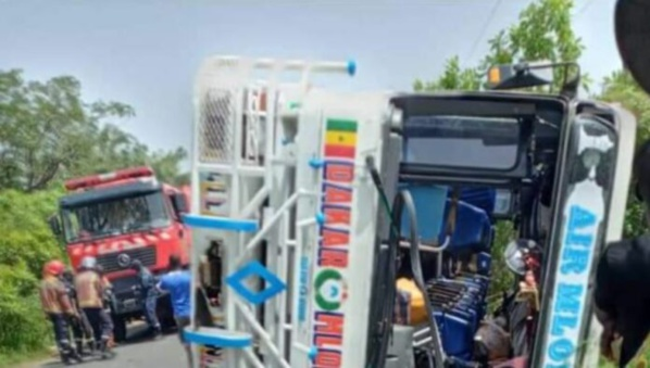 L'axe Diacounda-Bignona : Trois morts dans un accident de la circulation