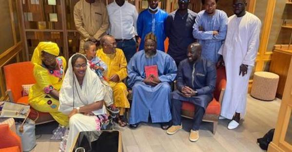 France : Serigne Abdou Mbacké Cheikh Khady reçoit une délégation de Pastef
