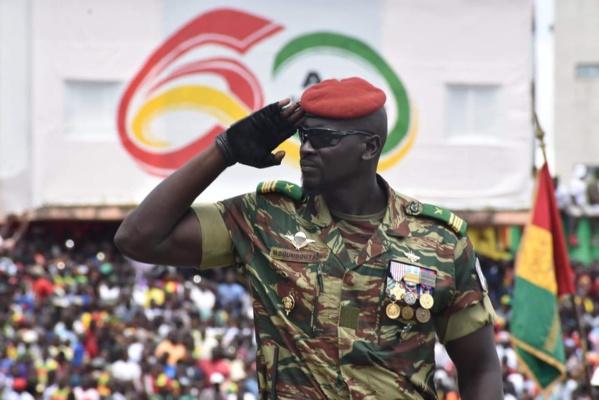 Le lieutenant-colonel Mamady Doumbouya formé à l'EAI de Thiès