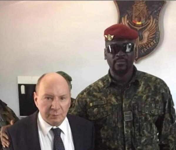 L'ambassadeur de la Russie à Conakry reçu par Mamading Doumbouya, Président du CNRD