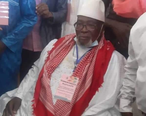 Elhadj Sékhouna au colonel Doumbouya : « On ne doit pas donner la parole aux promoteurs du 3e mandat »