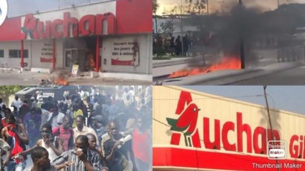 """Émeutes de mars : Le groupe français """"Auchaun"""" a perdu plus de 7 milliards"""
