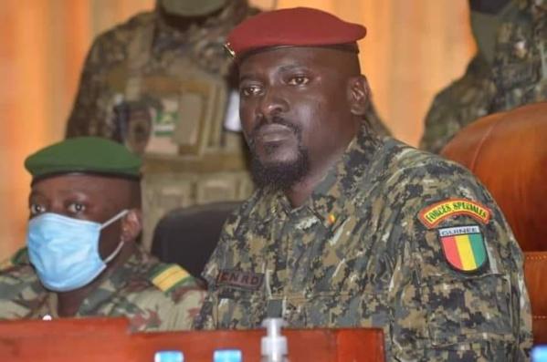 """La cinglante réplique du CNRD à la CEDEAO : """"Nous n'avons de comptes à rendre qu'au seul peuple de Guinée"""""""