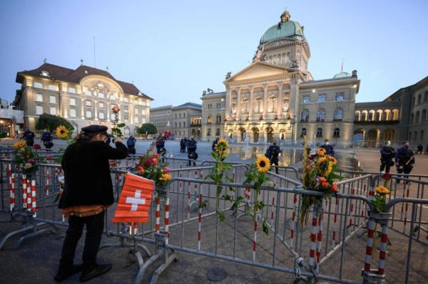 Suisse : Comment le Palais fédéral est devenu une cible