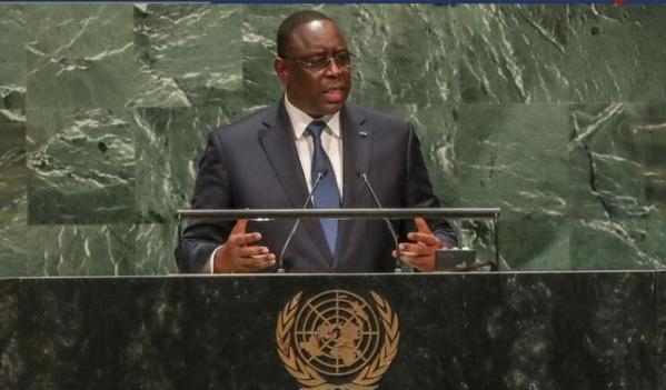 Discours du Chef de l'Etat à l'AG des Nations-Unies : La DSE/APR-USA félicite Macky