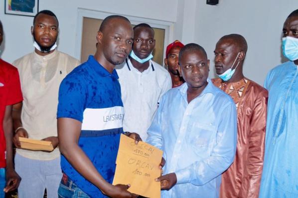 Pour stimuler la citoyenneté, la solidarité et la cohésion entre jeunes de Fatick : Maissa Mahécor Diouf met 4 millions dans le sport !