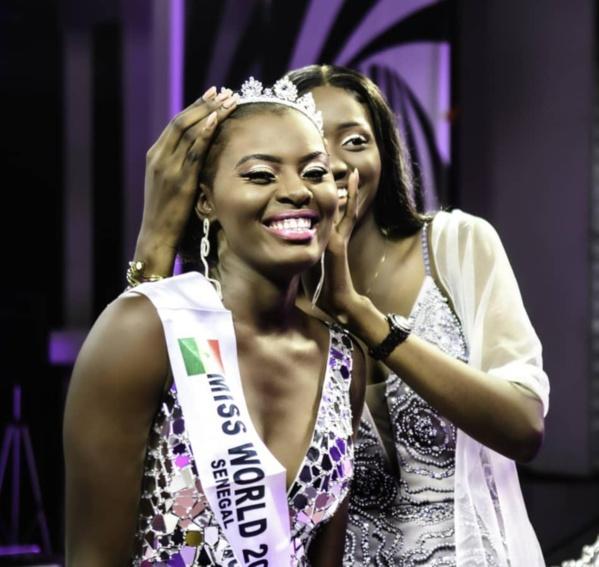 Penda Sy élue Miss World Sénégal 2021