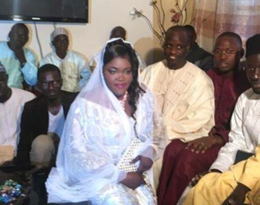 Serigne Assane MBacké épouse Ndèye Fatou NDiaye, journaliste à Walf Fadjri