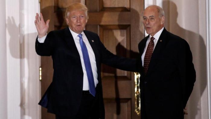 Pour stopper l'immigration illégale, Trump nomme John Kelly à la Sécurité intérieure