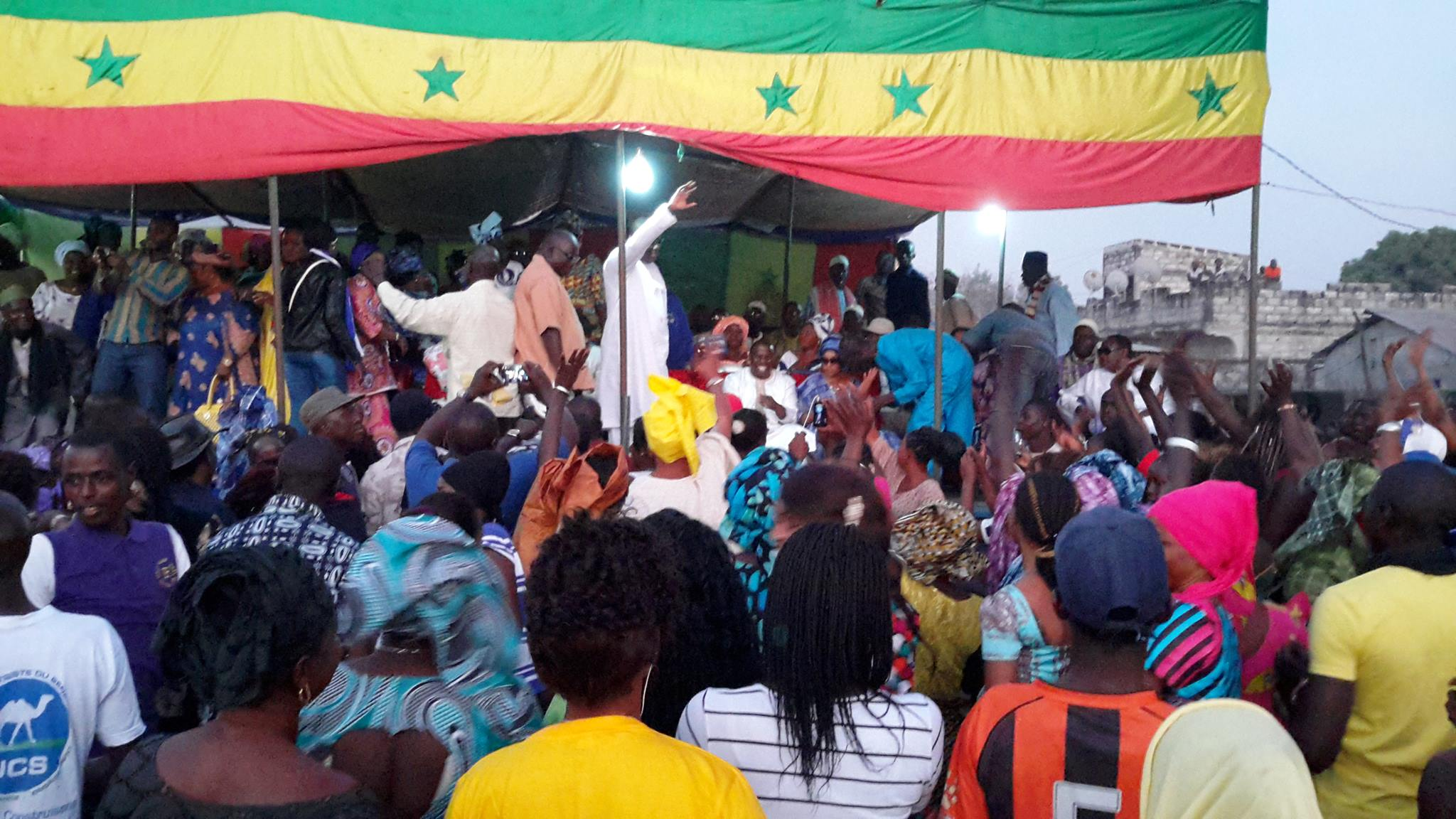 Ziguinchor: les images du meeting du président Abdoulaye Baldé à Kadior