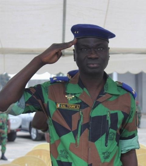 Dernière minute: Sékou Touré, nouveau Chef d'état-major général des forces armées Ivoiriennes