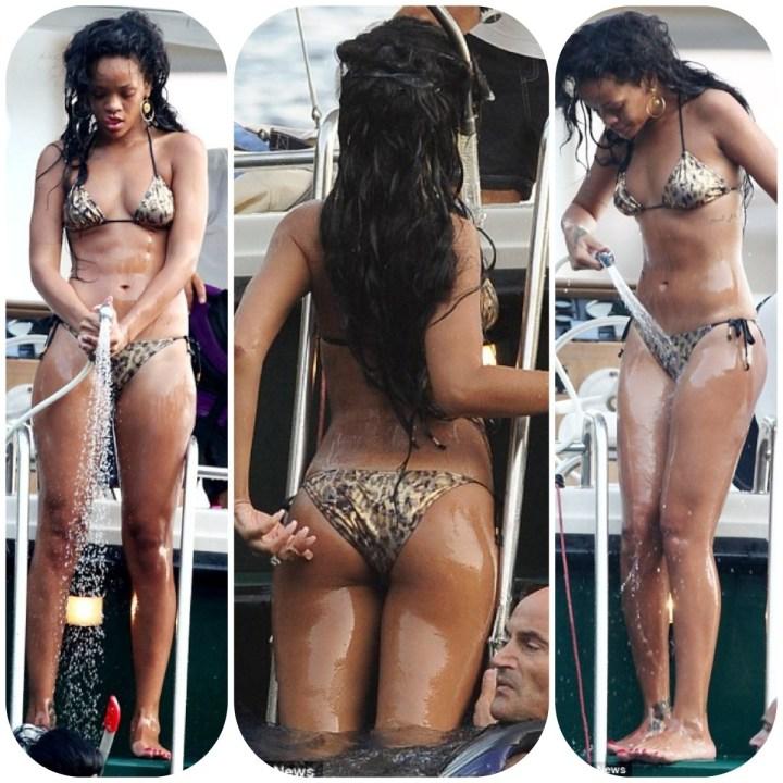 Les 08 photos de Rihanna très sexy en Bikini plus haut