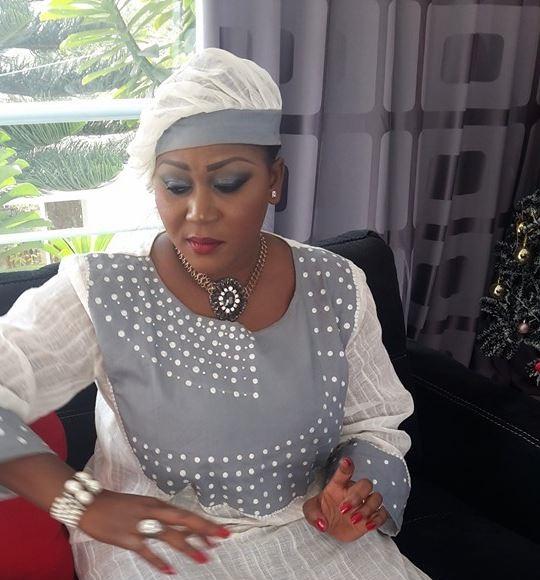 Mamy Diop de la TFM, joue à la grande dame