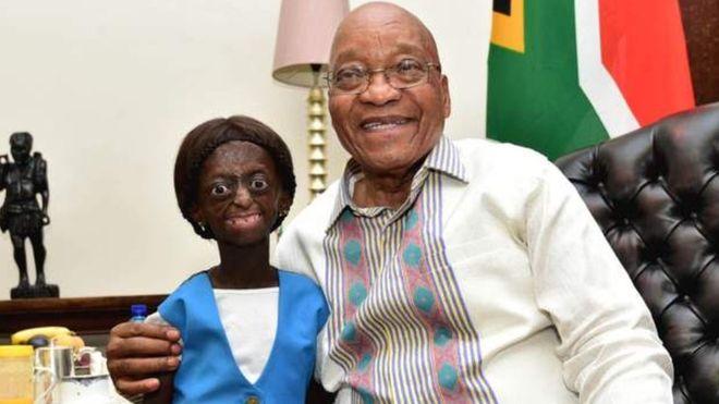 Afrique du sud : elle rêvait de voir le président