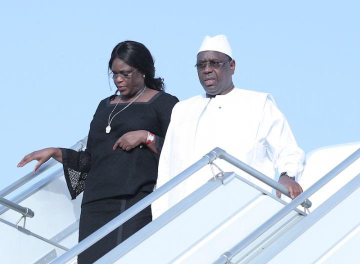 Arrivée à Abidjan du Président de la République du Sénégal