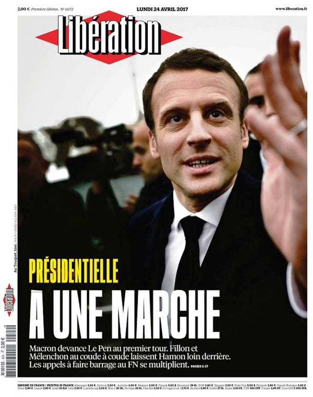 """Premier tour de la présidentielle : les """"unes"""" de presse"""