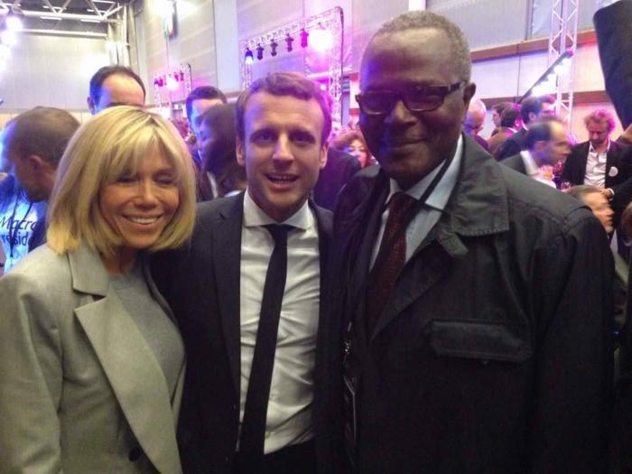 Élection française : Ousmane Tanor Dieng soutient-il Emmanuel Macron ?