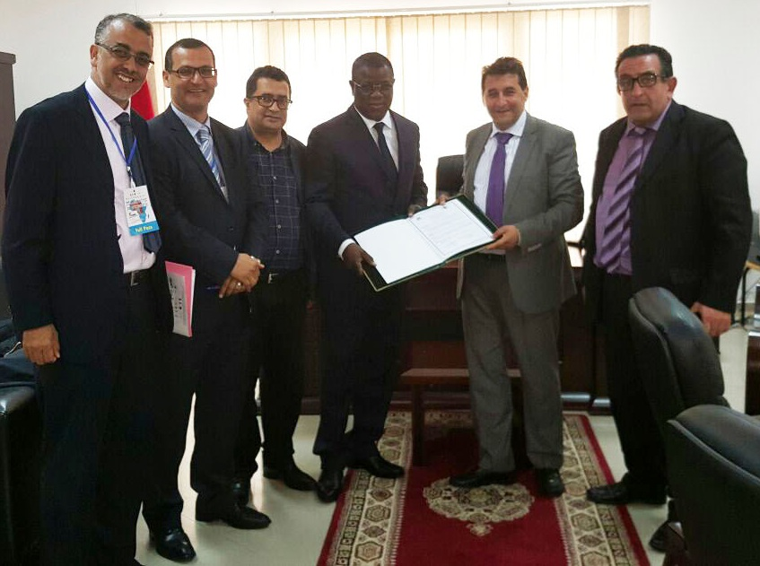 Le maire Abdoulaye Baldé, connecte Ziguinchor avec une ville Marocaine (Document)