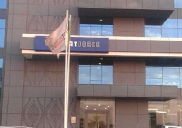 """Groupe """"CSI MATFORCE"""": les  travailleurs  en sitting pour dénoncer la gestion du DG mamadou Sow"""