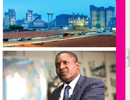 Près de 40 milliards de chiffre d'affaires pour Dangote Sénégal