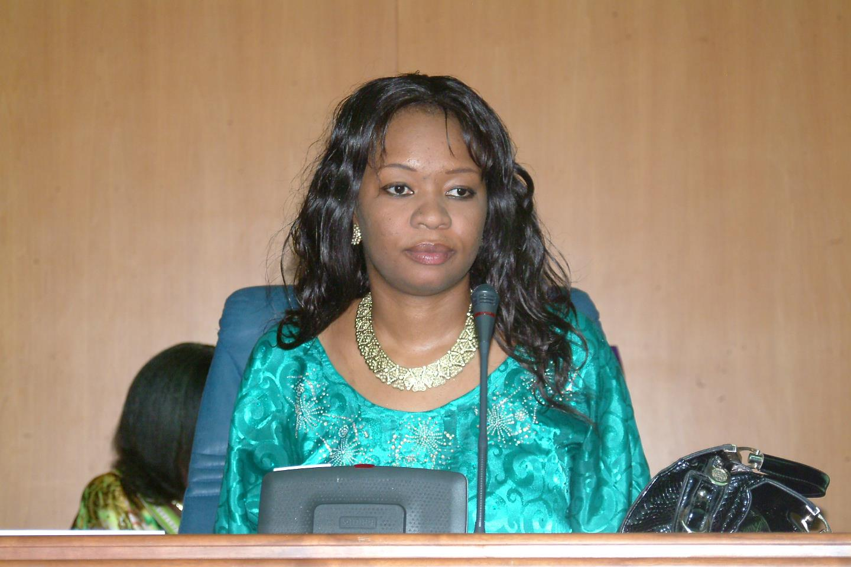 Fatoumata Gassama Fall du FS/DBJ, arrêtée par la Police