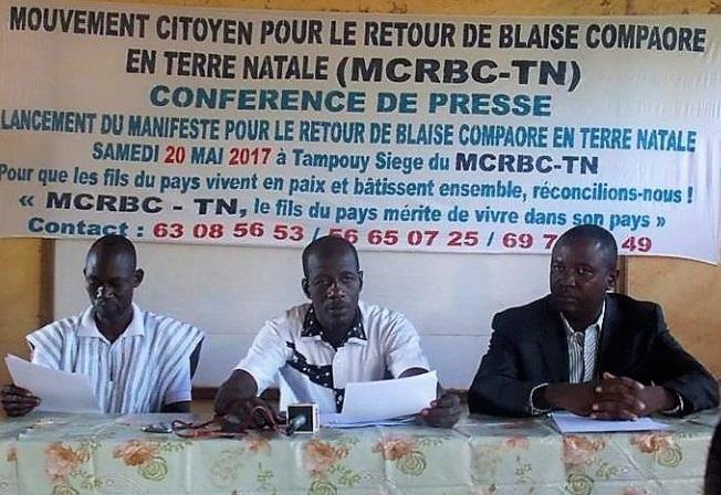Burkina: un mouvement de la société civile demande le retour de Blaise Compaoré