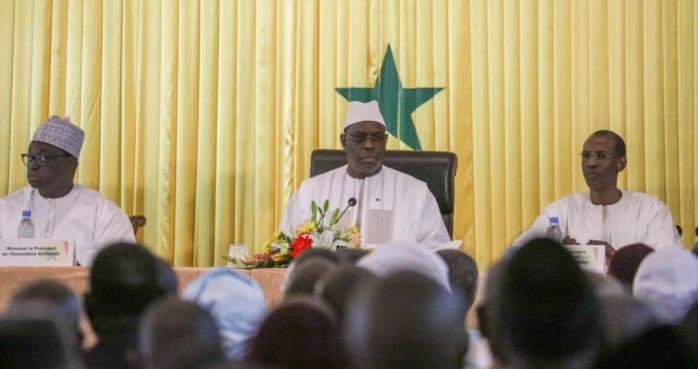 Report de la cérémonie officielle du Dialogue national