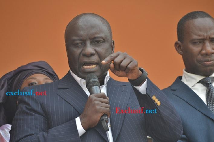 Idrissa Seck regrette: «Je suis meurtri que Thierno Bocoum ne soit pas sur la listes à la députation»
