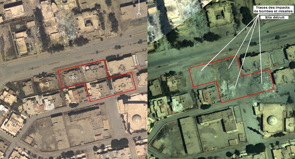 Ministère russe de la Défense: la photo de l'attaque qui aurait tué le chef de Daech
