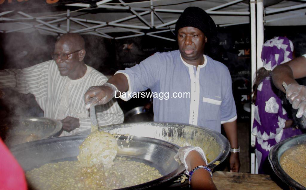 Niarry Tally: Salam Diallo soutient les Marmites du Cœur