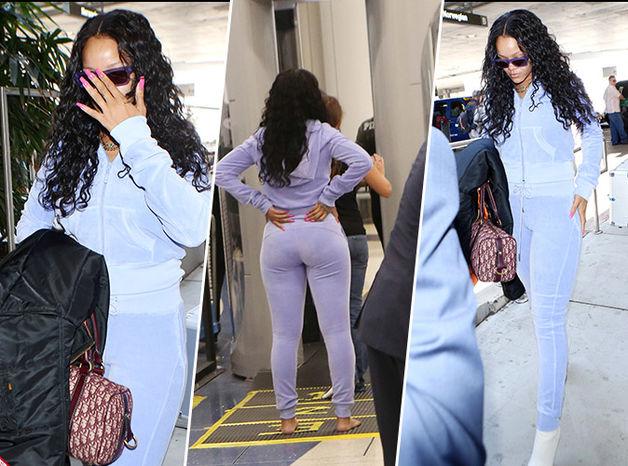 Photos - Rihanna : En forme, elle fait sensation à l'aéroport de Los Angeles