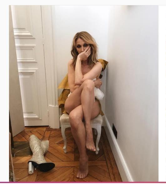 Céline Dion complètement nue pour Vogue Magazine