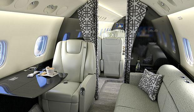 "Me Wade à bord de ce Jet Privé ""Legacy 650"" (Regardez)"