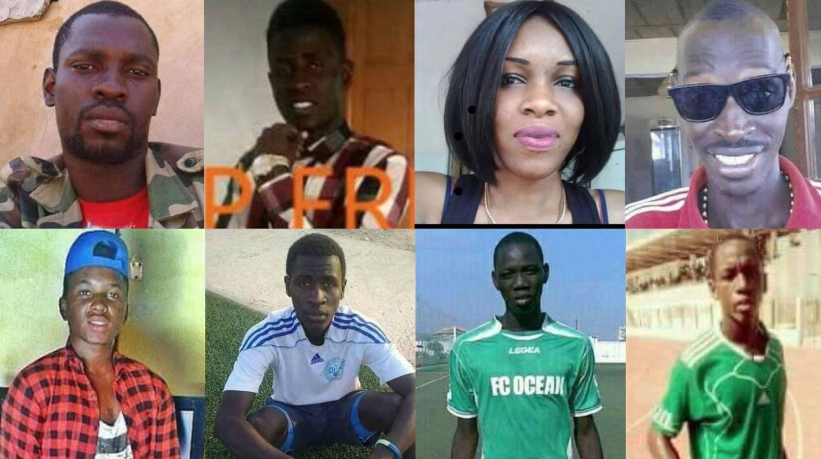 Drame de Demba Diop : La liste des 8 morts