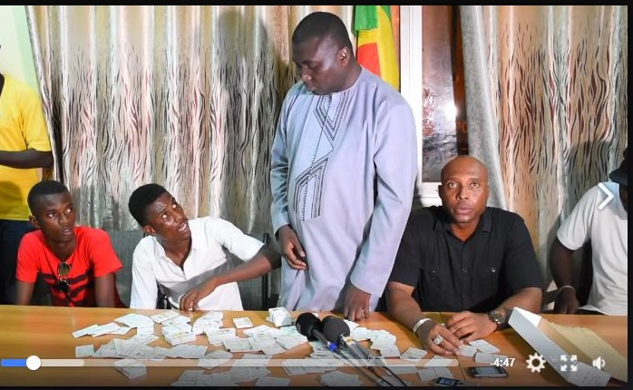 Scandale des cartes : Une plainte contre Barth et Bamba Fall