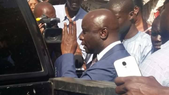 Dernière minute: Idrissa Seck bloqué à  Rebeuss