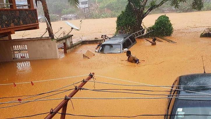 Sierra Léone: 312 morts selon la Croix-Rouge